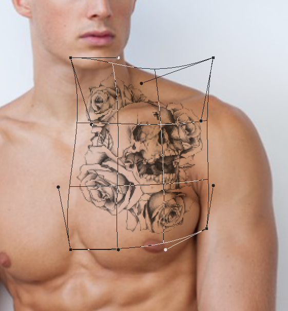 come applicare tatuaggio photoshop